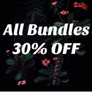 All Bundles 30% OFF 💋